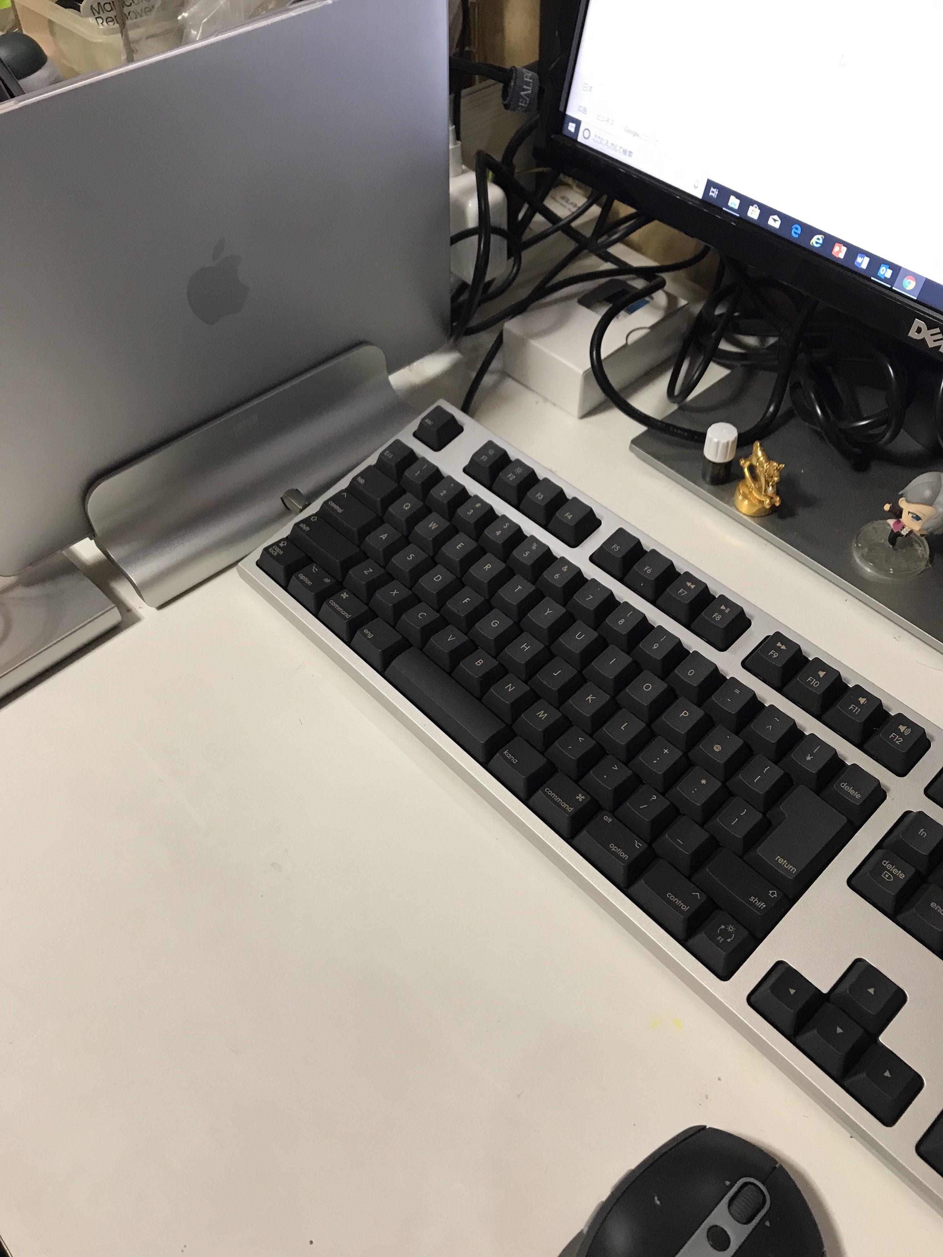 【REALFORCE for Mac】15年越しの憧れのキーボードを入手しました